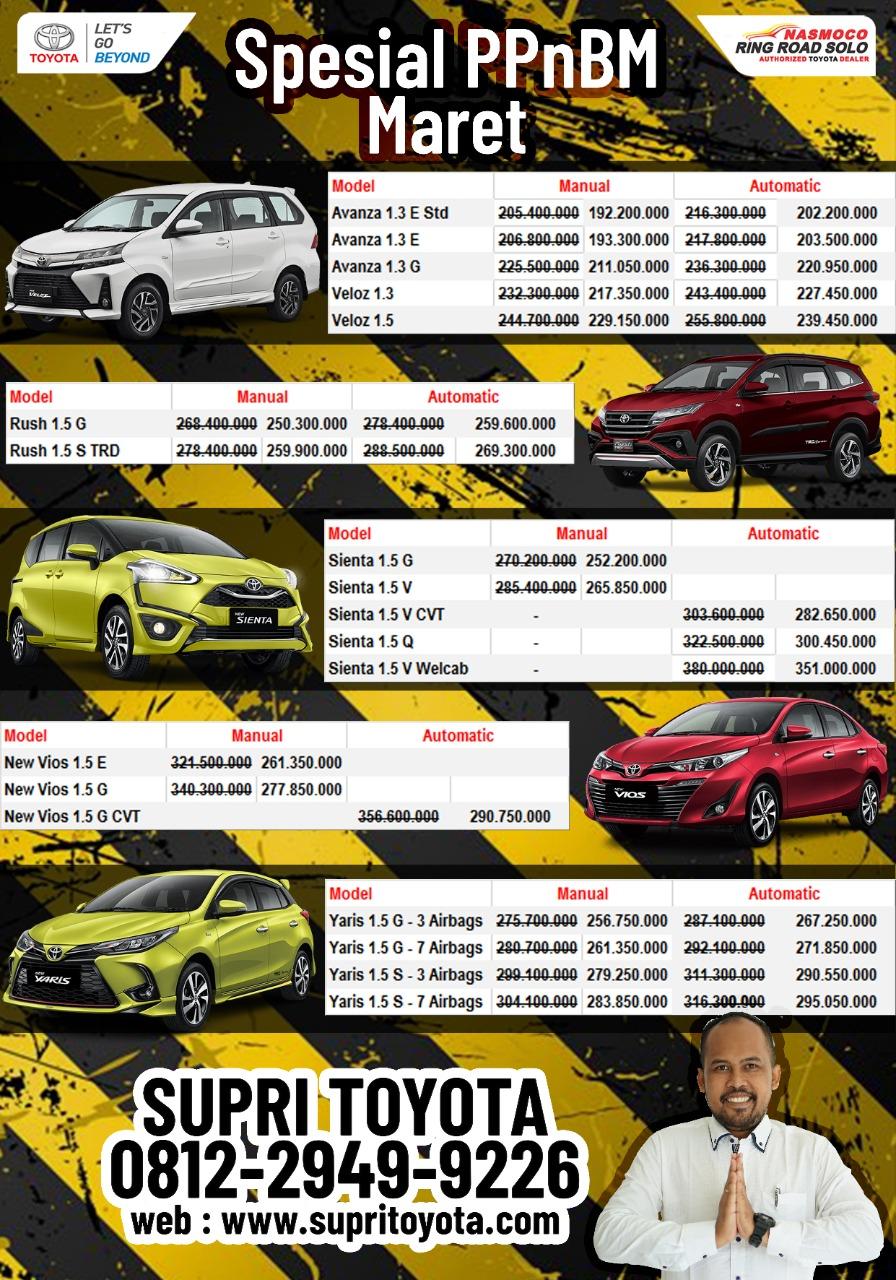 Promo PPNBM Toyota Solo Maret 2021 - supritoyota.com ...